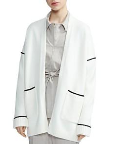 Maje - Monia Contrast-Trim Sweater