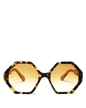 Chloe Women\\\'s Octagonal Sunglasses, 55mm-Jewelry & Accessories