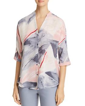 NIC and ZOE - Sail Away Printed Shirt