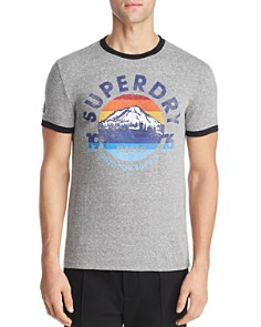 Superdry - 76 Graphic Ringer Tee