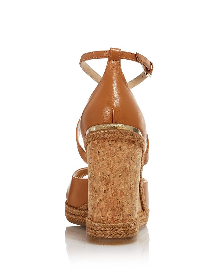 9b305d192a7d Jimmy Choo - Women s Alanah 105 Cork Wedge Heel Sandals