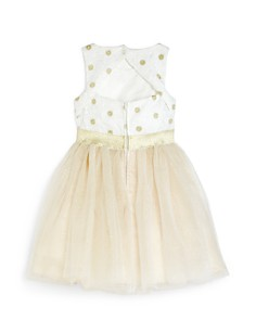 US Angels - Girls' Daisy Fit-and-Flare Dress - Little Kid