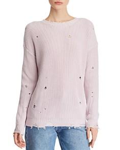 AQUA - Distressed Sweater - 100% Exclusive