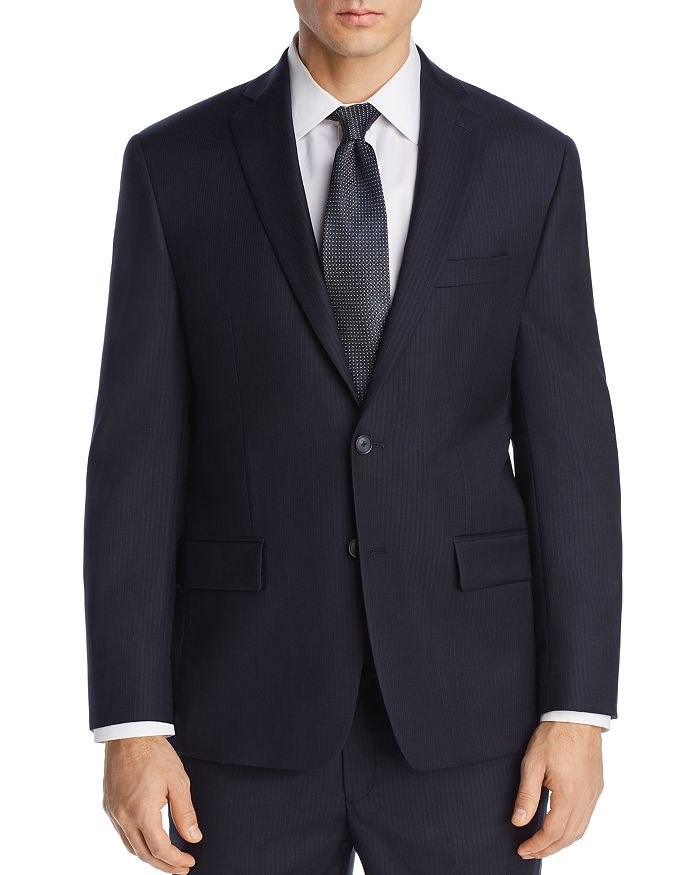 Michael Kors - Tonal Pinstripe Classic Fit Suit Jacket
