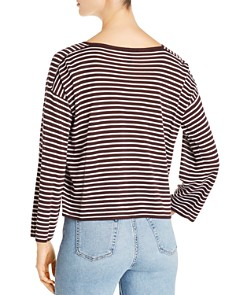 Eileen Fisher - Striped Crop Sweater