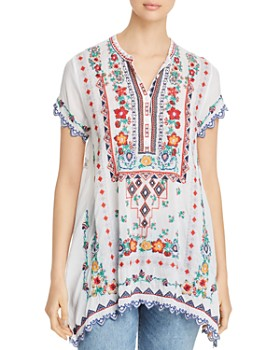 b492b6e4eb96d Johnny Was - Liesse Embroidered Tunic ...