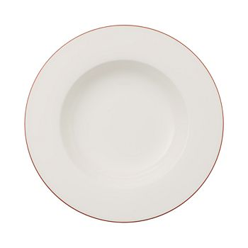 Villeroy & Boch - Anmut Rosewood Rim Soup Plate - 100% Exclusive