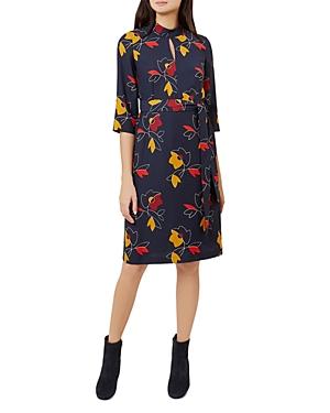 Hobbs London Lyla Floral Print Dress