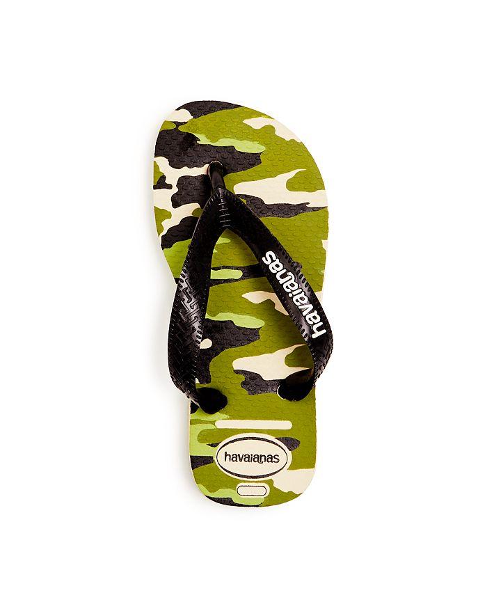 73152556e59 havaianas - Boys  Camo Flip-Flops - Toddler