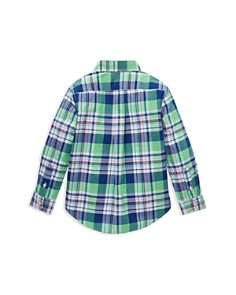Ralph Lauren - Boys' Plaid Sport Shirt - Little Kid