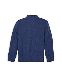Ralph Lauren - Boys' Cotton-Mesh Half-Zip Pullover - Little Kid