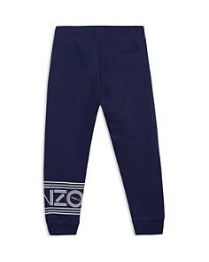 Kenzo - Boys' Fleece Logo Jogger Pants - Little Kid