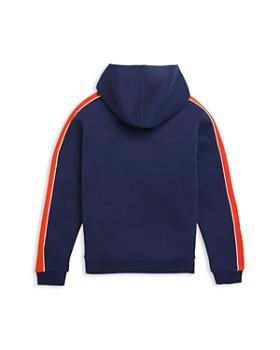 Lacoste - Boys' Single-Stripe Hooded Zip Sweatshirt - Little Kid, Big Kid