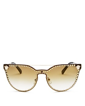 bf222a59ec3 Versace - Women s Mirrored Cat Eye Sunglasses