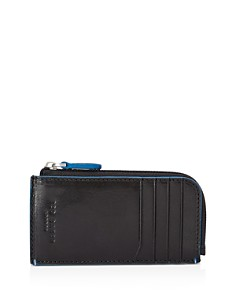 Ted Baker - Chicar Contrast-Stitch Leather Cardholder