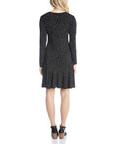 Karen Kane - Dakota Dot-Print Dress