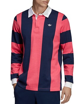 cec4c932 adidas Originals - Striped Rugby Shirt ...