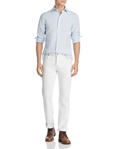 The Men's Store at Bloomingdale's - Micro-Gingham Slim Fit Shirt - 100% Exclusive