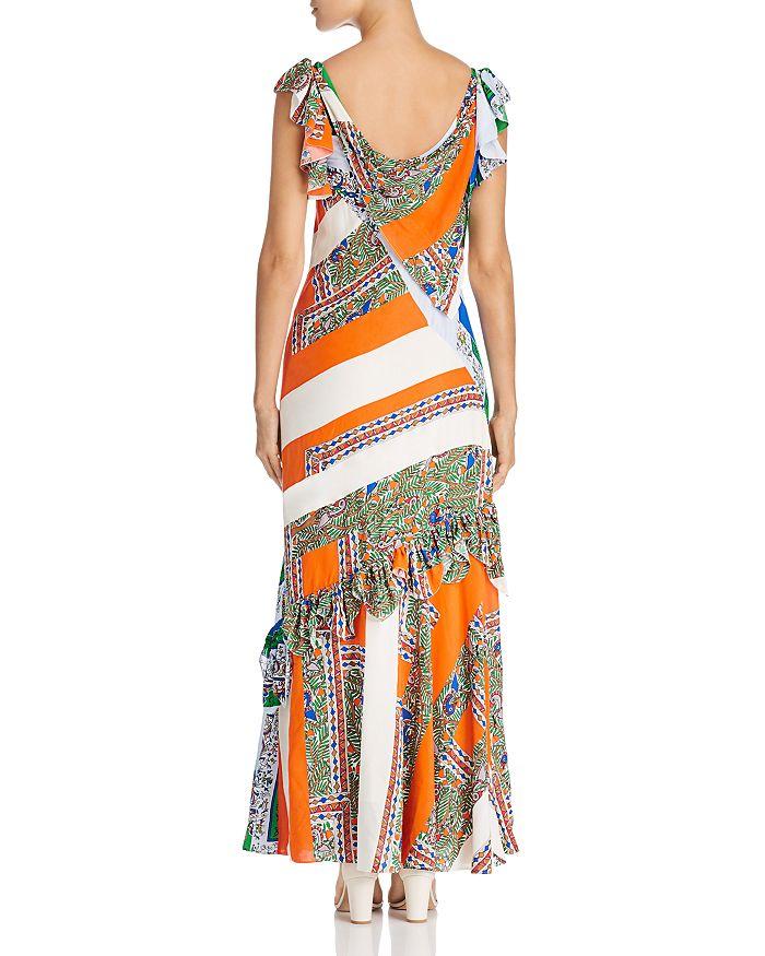 c454db7a1 Patchwork Printed Maxi Dress