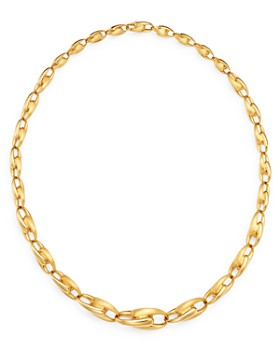 """Marco Bicego - 18K Yellow Gold Lucia Link Collar Necklace, 18"""" - 100% Exclusive"""