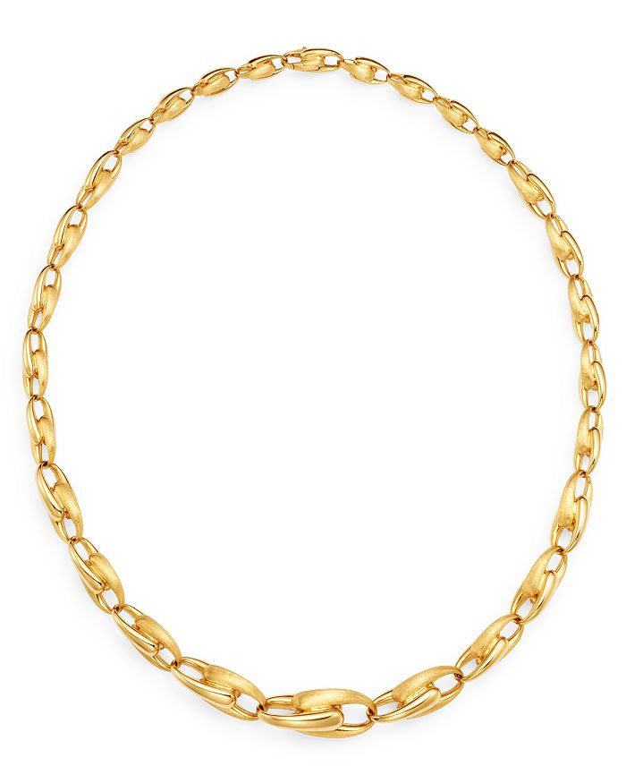 "Marco Bicego - 18K Yellow Gold Lucia Link Collar Necklace, 18"" - 100% Exclusive"