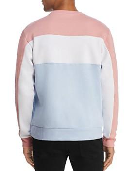 FILA - Lesner Color-Block Fleece Logo Sweatshirt