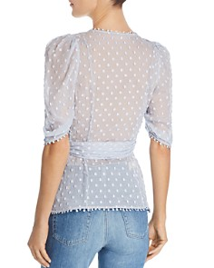 Alice McCall - Moon Talk Embroidered Wrap Top