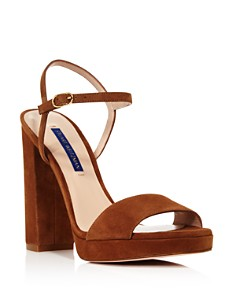 Stuart Weitzman - Women's Sunray Block Heel Sandals