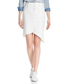 Billy T - Asymmetric Denim Pencil Skirt