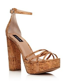 AQUA - Women's Milo Platform Sandals - 100% Exclusive