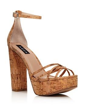 e8d0d81bb1d AQUA - Women s Milo Platform Sandals - 100% Exclusive ...