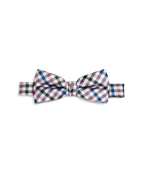 Michael Kors - Boys' Checked Silk Bow Tie