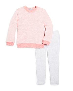 Splendid Girls Tonal ColorBlock Sweatshirt  Leggings Set  Little Kid