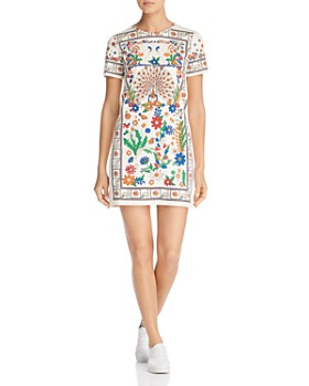 306505ae65 Tory Burch - Kerry Printed T-Shirt Dress ...