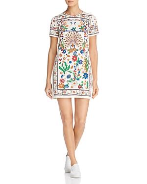 Tory Burch Kerry Printed T-Shirt Dress