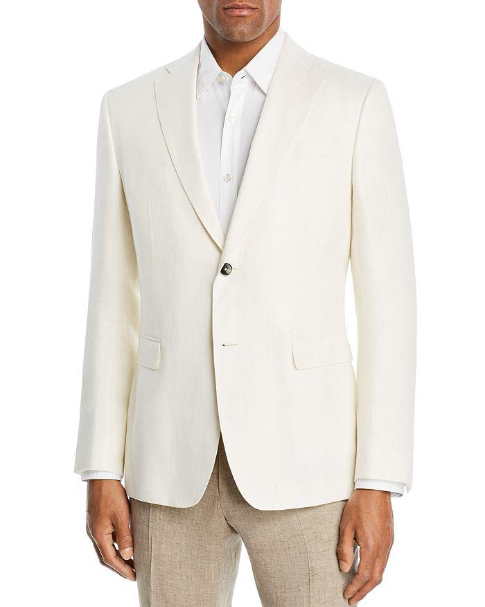 Z Zegna - Wool & Linen Textured Slim Fit Sport Coat - 100% Exclusive