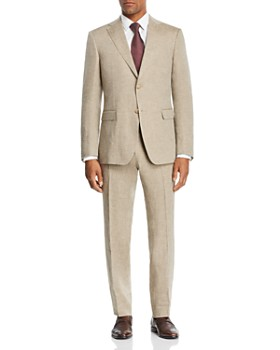 20d6b63581a2 Z Zegna - Linen Solid Slim Fit Suit - 100% Exclusive ...
