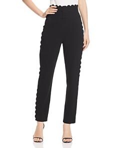Rebecca Taylor - Scallop-Edge Suit Pants