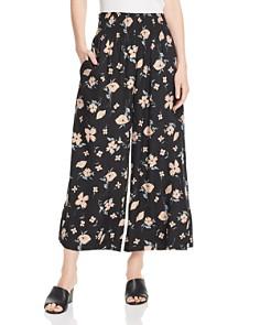 Rebecca Taylor - Daniella Floral Wide-Leg Pants