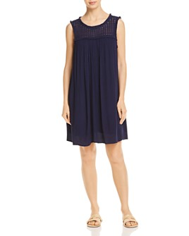 Tommy Bahama - Crinkle Rayon Sleeveless Dress Swim Cover-Up