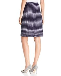 Misook - Knit Stripe Skirt