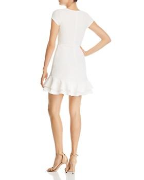 48ad42c555f ... AQUA - Textured Ruffle-Hem Dress - 100% Exclusive