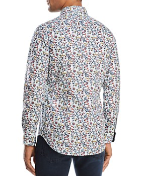 Paul Smith - Floral Slim Fit Button-Down Shirt
