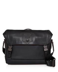 COACH - Kent Leather Messenger Bag