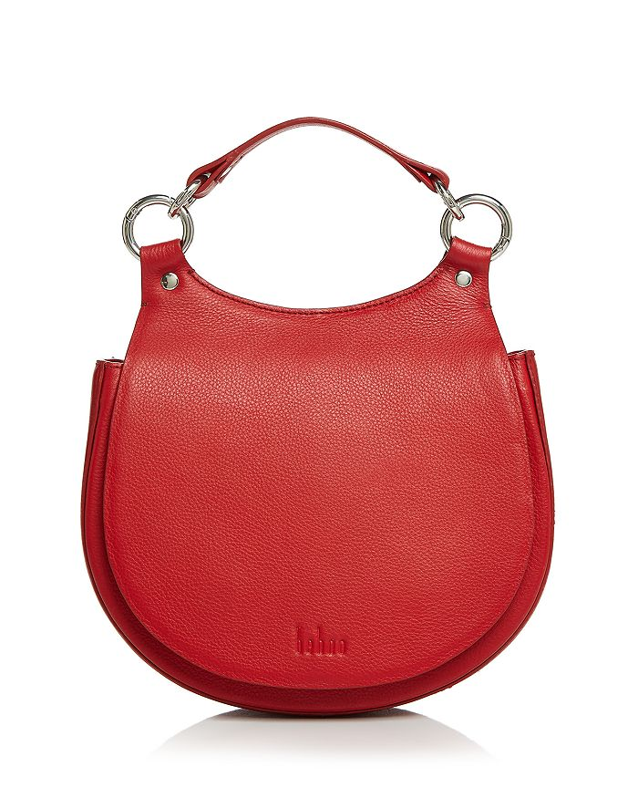 617f7828ad2f43 Behno Tilda Leather Crossbody Saddle Bag | Bloomingdale's