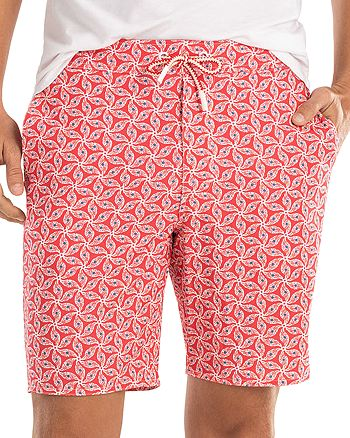 Johnnie-O - Sanibel Shell-Print Swim Trunks