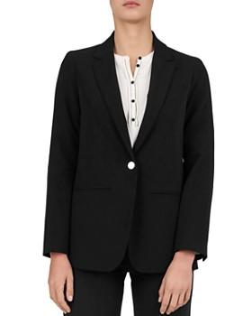 Gerard Darel - Stella Single-Button Blazer