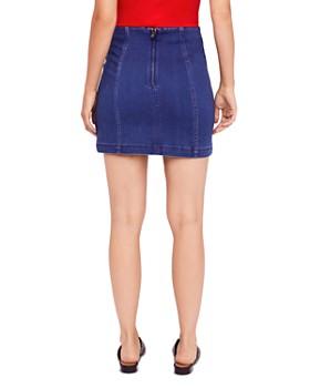 Free People - Modern Femme Denim Mini Skirt