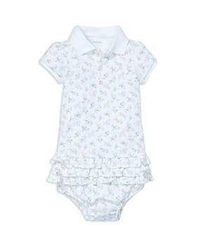 d57b02db10dd42 Ralph Lauren - Girls' Ruffled Polo Dress & Bloomers Set - Baby ...