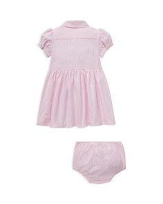 Ralph Lauren - Girls' Striped Oxford Dress & Bloomers Set - Baby